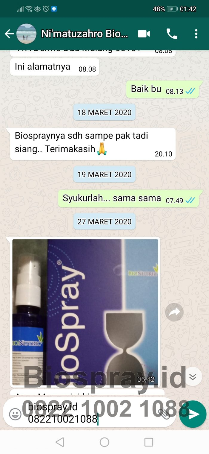 Bio Spray Bionutric ASLI 7