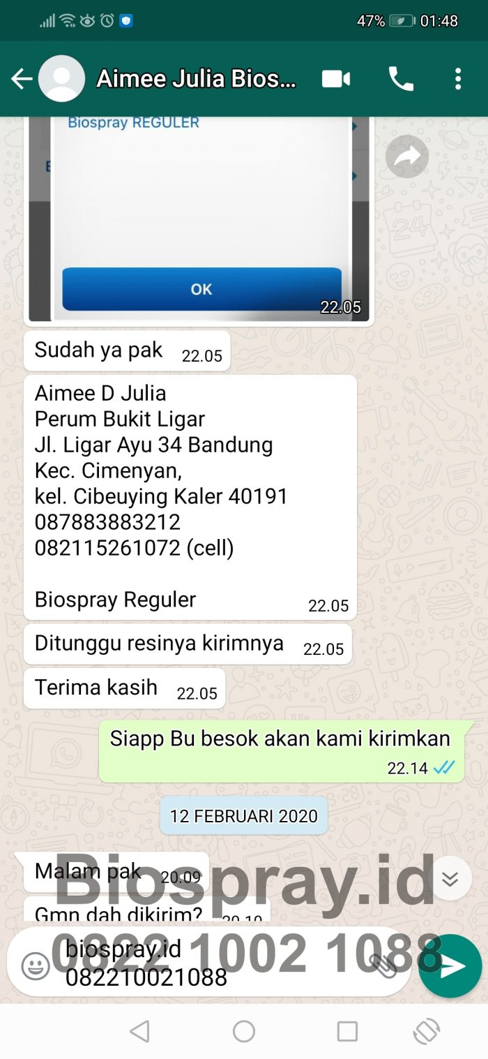 Bio Spray Bionutric ASLI 8