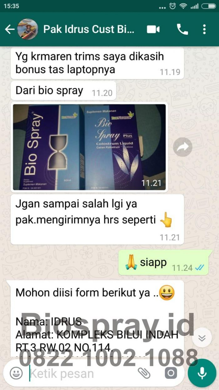Bio Spray Bionutric ASLI 31